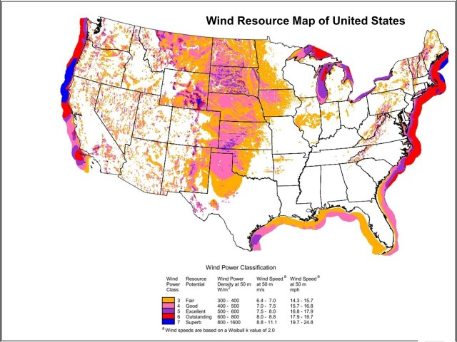 Wind Maps For Home Turbines Solar365